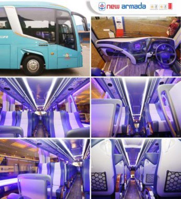 Interior bus terbaru Evolander
