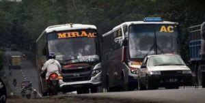 Penggemar bus ngeblong
