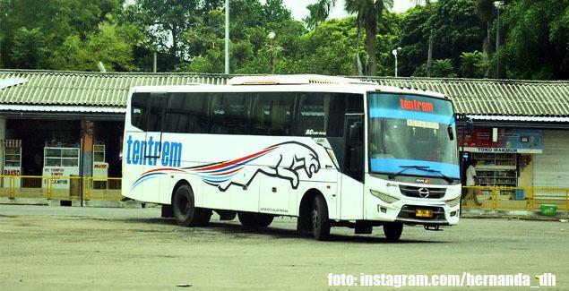 Bus PO Tentrem | foto: instagram.com/hernanda_dh