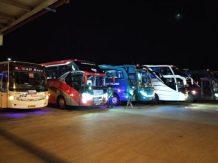 Unit armada bus peserta JamNas
