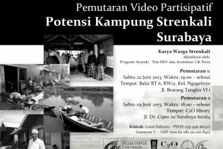 Pemutaran Video Potensi Kampung Strenkali Surabaya - Ayorek Events