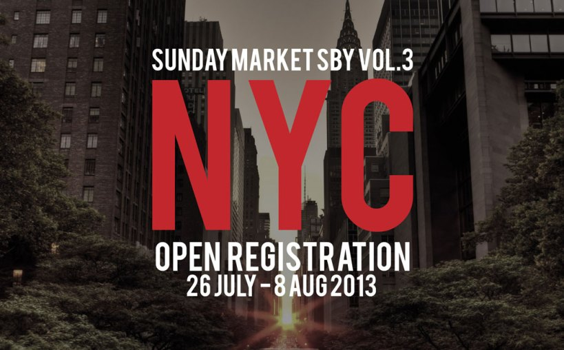SundayMarketNYC Open registration