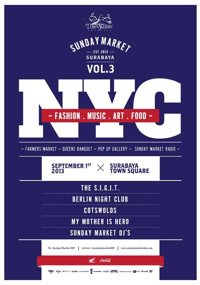 "Sunday Market vol 3 ""NYC"""