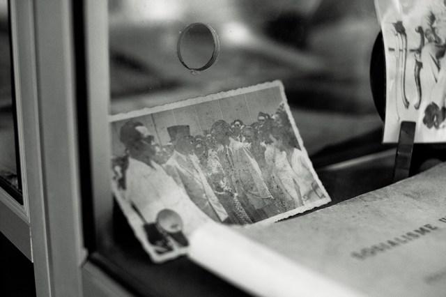 Foto kenangan Oei mewawancarai Soekarno. Foto: Erlin Goentoro
