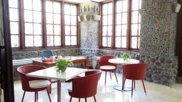 Lounge Perpustakaan Bank Indonesia. Foto: Erlin Goentoro