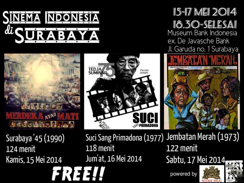 Sinema Indonesia di Surabaya