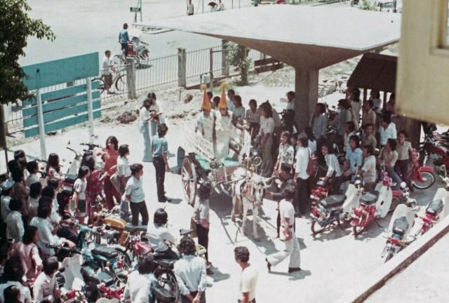 Desain Atap Hypar Kampus ITS Baliwerti 1971