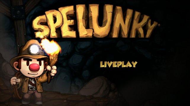 Spelunky LivePlay