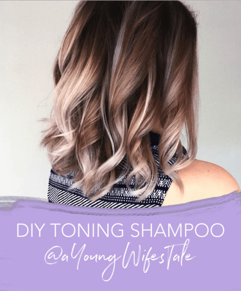 Diy Toning Shampoo A Young Wife S Tale