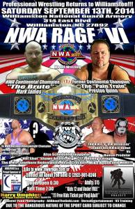 NWA Rage - 09/13/2014 - Williamston, NC