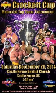 1flyer NWA WWW Crockett Cup 9-20-14 Castle Hayne NC