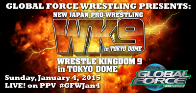 GFW presents NJPW's Wrestle Kingdom 9 Pre-Show