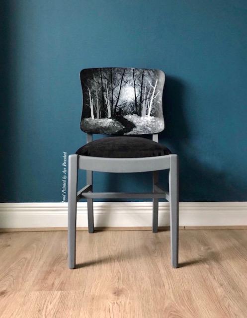Artwork chair