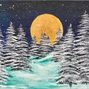 Xmas Snowy Scene
