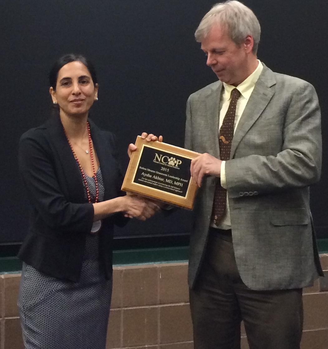 Dr. Akhtar announced 2015 winner of Belton Mouras Grassroots Leadership Award