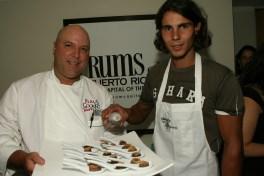 Wilo Benet and Rafael Nadal