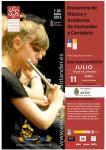 CARTEL XV ENCUENTRO DE MUSICA