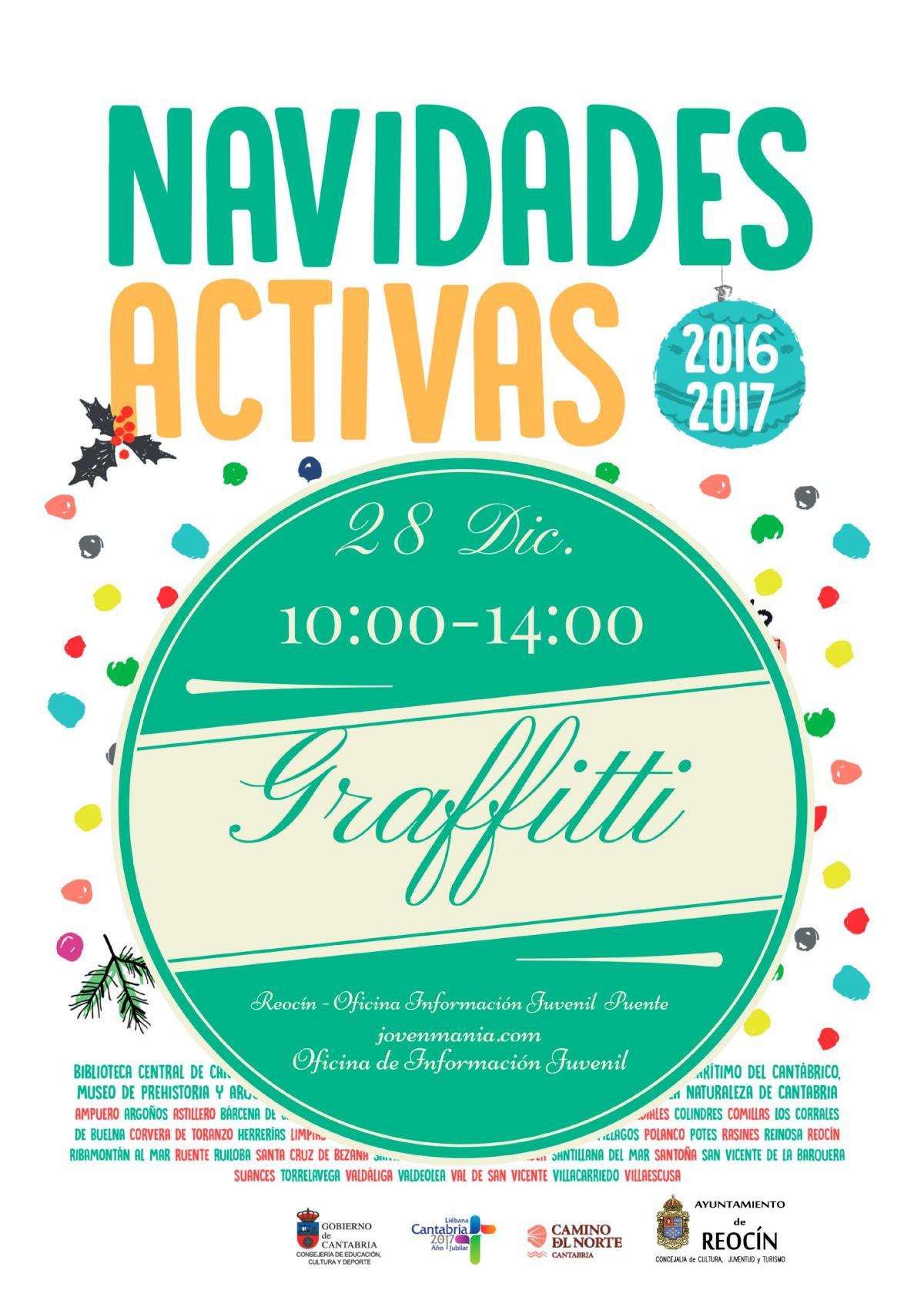 cartel-programa-navidades-activas-graffitti-28-de-diciembre