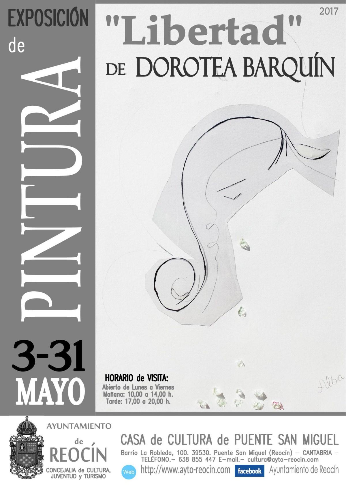 cartel expo de pintura 3-31 de mayo 2017