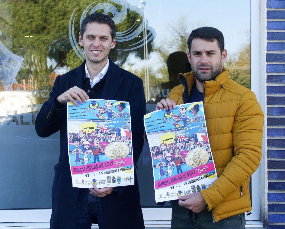 Mario Iglesias y Eduardo Zunzunegui, Eurolimpiadas 2017