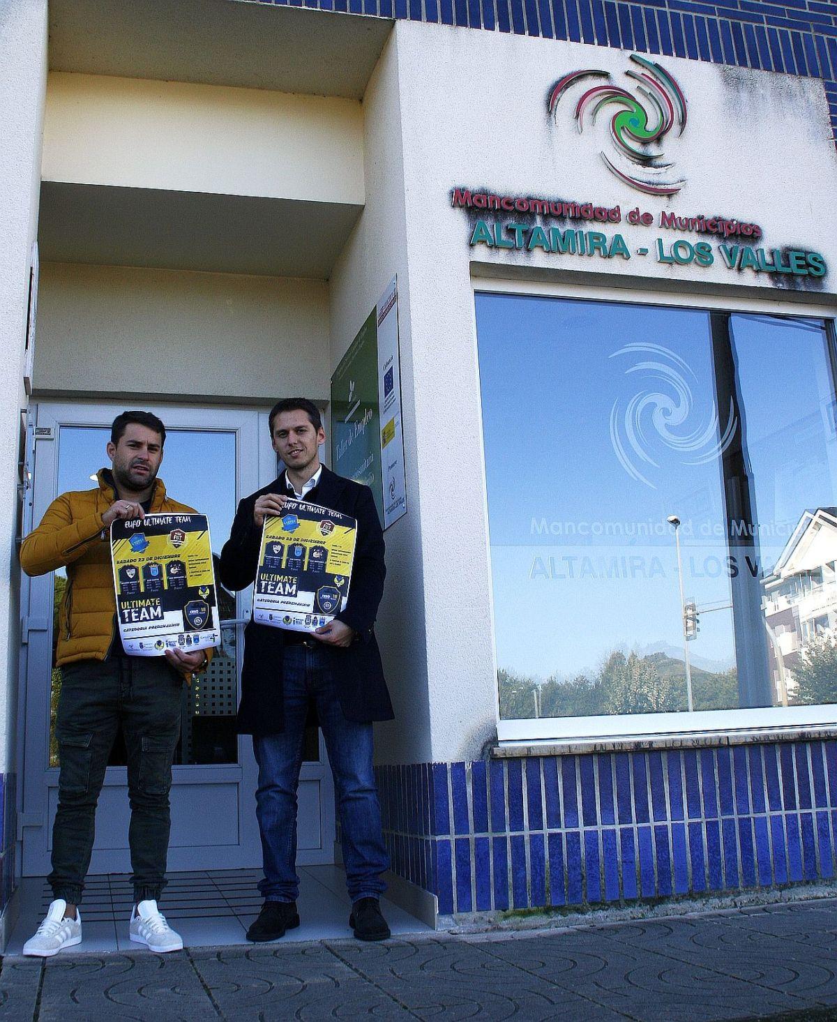 """Eduardo Zunzunegui y Mario Iglesias, """"Eurocopa Ultimate Team Altamira-Los Valles"""""""
