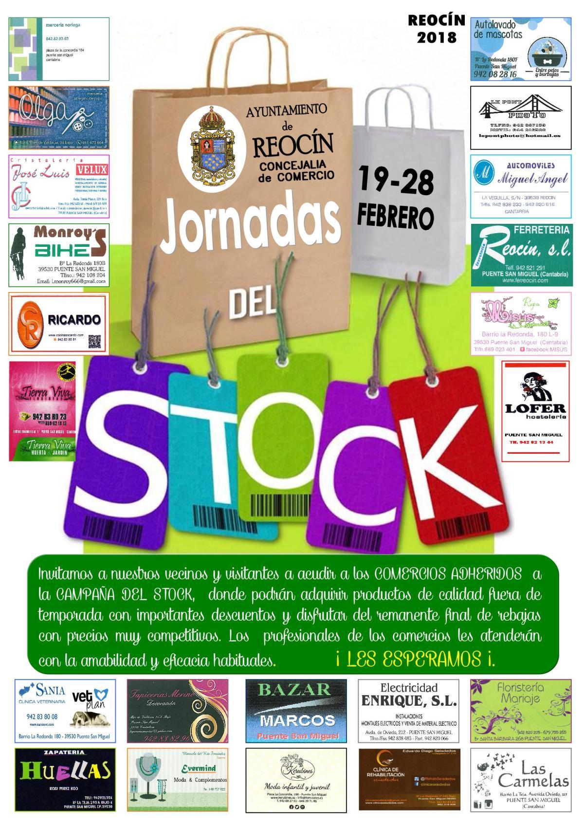 cartel jornadas del stock 2018