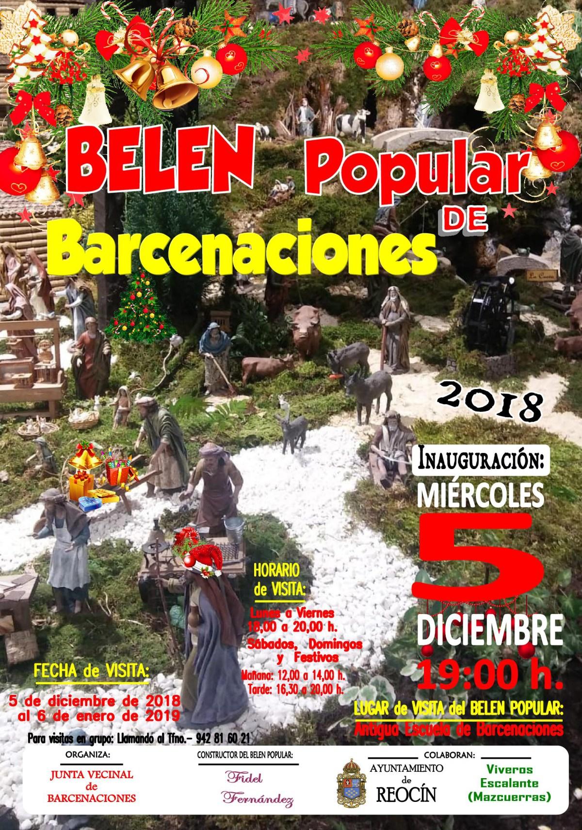 cartel popular de barcenaciones2018