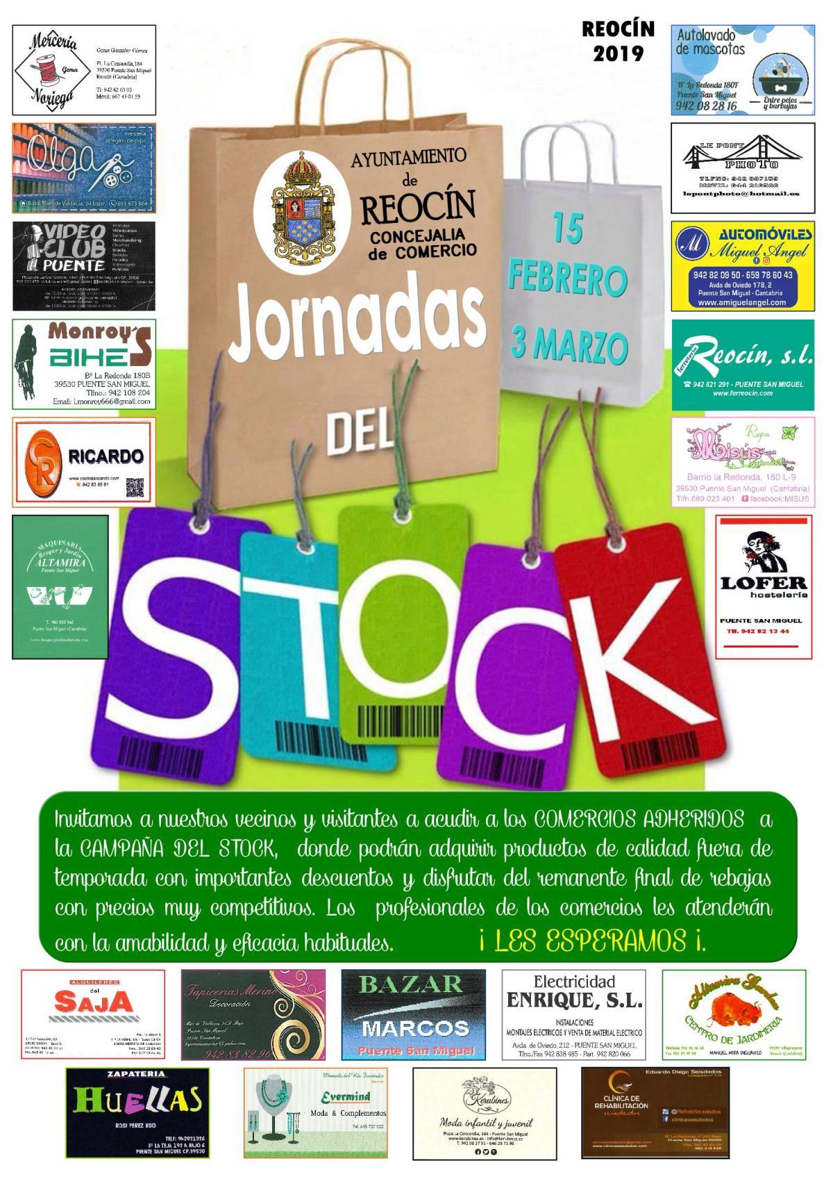 cartel jornadas del stock 2019
