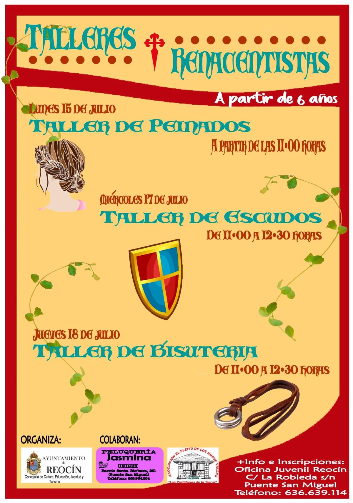cartel talleres instituciones 2019