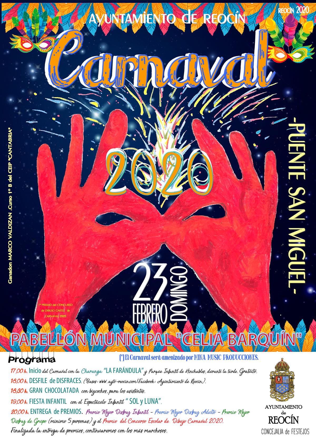 cartel carnaval 2020 final