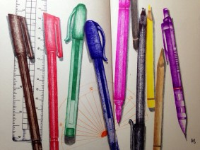 Pens © Ayu Baker