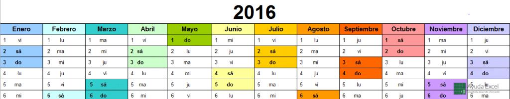 Calendario 2016 01