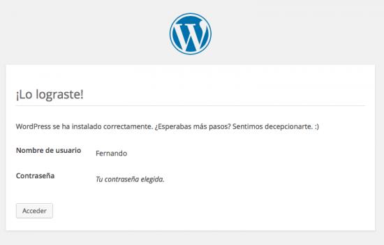 instalar WordPress paso 5