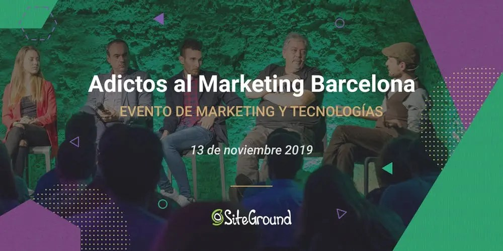 Adictos al Marketing 2019 – El futuro de WordPress y retos de 2020 en Barcelona • Ayuda WordPress