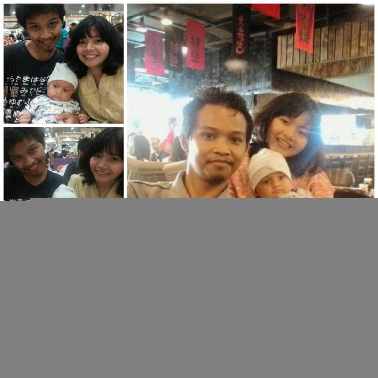 Jakarta - Rayan sama Ibu dan Bapak
