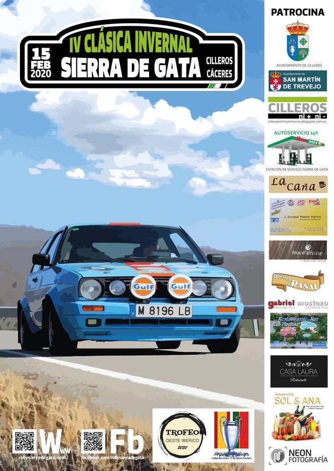 La IV Clásica Invernal Sierra de Gata se celebrará el próximo 15 de Febrero en Cilleros y recorrerá las bonitas carreteras de Sierra de Gata