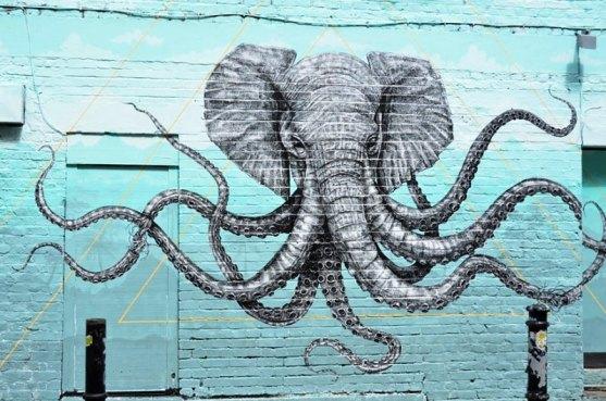 Kota dengan Seni Jalanan Terbaik di Dunia - Seni-Jalanan-Lukisan-Mural-di-Kota-London-di-Inggris-2
