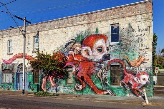 Kota dengan Seni Jalanan Terbaik di Dunia - Seni-Jalanan-Lukisan-Mural-di-Kota-Melbourne-di-Australia-1