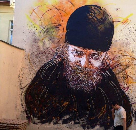 Kota dengan Seni Jalanan Terbaik di Dunia - Seni-Jalanan-Lukisan-Mural-di-Kota-Moskow-di-Rusia-3