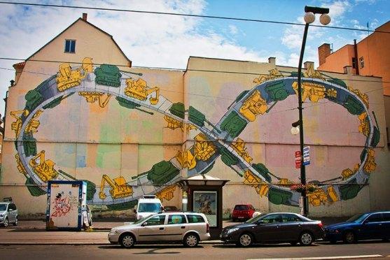Kota dengan Seni Jalanan Terbaik di Dunia - Seni-Jalanan-Lukisan-Mural-di-Kota-Praga-Republik-Ceko-3