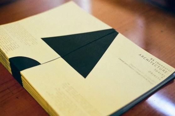 Contoh Desain Katalog Atraktif - Contoh-desain-katalog-Central-Saint-Martins-BA-Architecture-Catalogue-oleh-Paol-Kemp