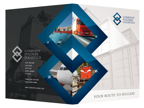 35 Desain Map Company Profile Perusahaan Corporate Portofolio Design Folder