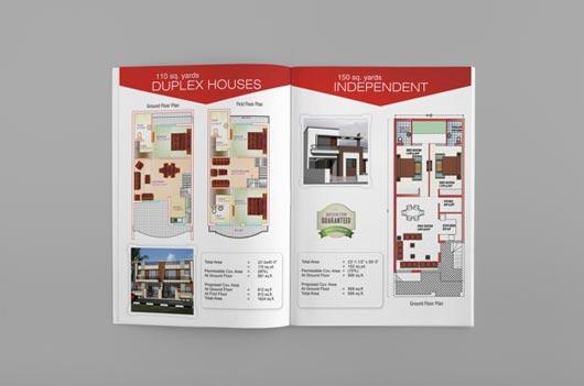 Desain Brosur Real Estate guna Meraih Pembeli Prospektif