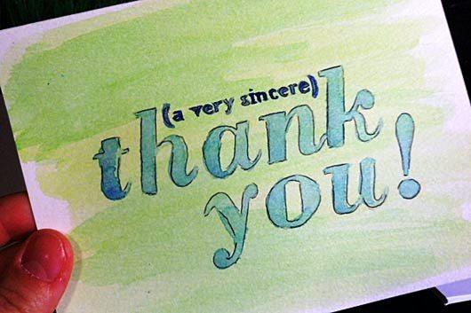 Desain Kartu Ucapan Terima Kasih - Contoh 49 Desain Kartu Ucapan Terima Kasih-11