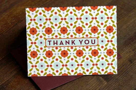 Desain Kartu Ucapan Terima Kasih - Contoh Desain Grafis Kartu Ucapan Terima Kasih-7