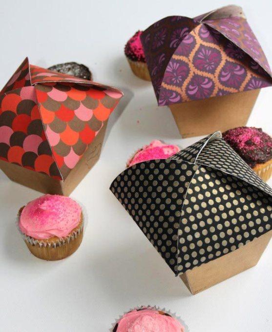 Contoh Desain Kemasan Roti Kue dan Biskuit - Kemasan-Roti-Biskuit-dan-Kue-Sugar-Cupcake-Packaging
