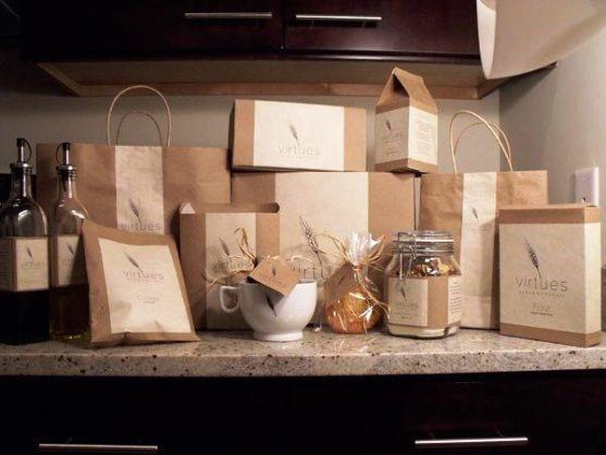 Contoh Desain Kemasan Roti Kue dan Biskuit - Kemasan-Roti-Biskuit-dan-Kue-Virtues-Bakery