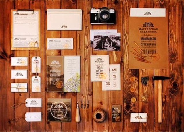 Contoh Corporate Identity untuk Branding Bisnis