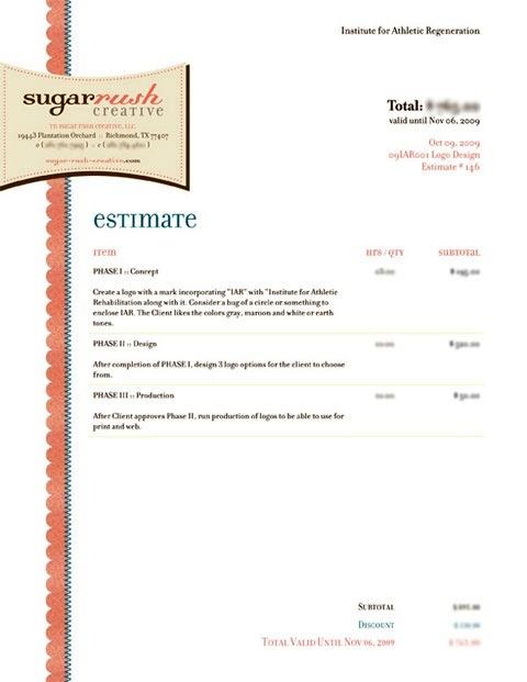 Contoh Faktur Invoice Tagihan - Contoh Desain Invoice Faktur Tagihan 02