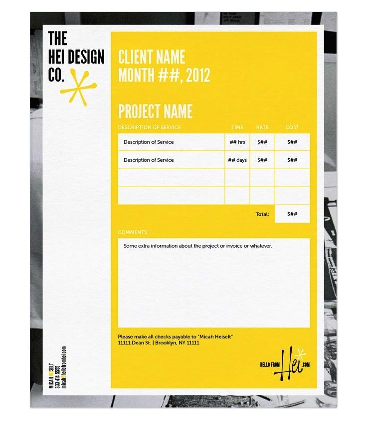 Contoh Faktur Invoice Tagihan - Contoh Desain Invoice Faktur Tagihan 17